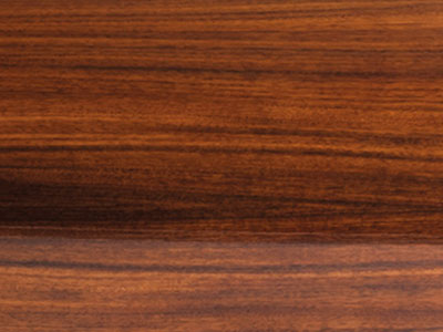 African walnut veneer with clear gloss piano lacquer